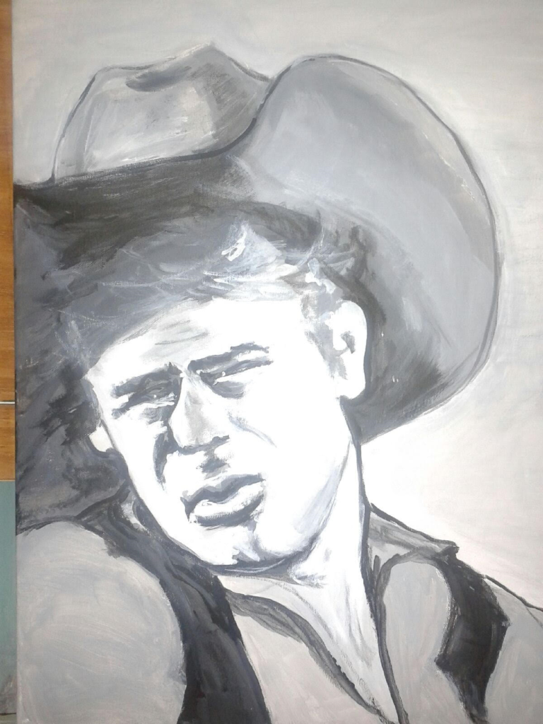Artist: bbryant James Dean Catalog #503 view only . Copyright (c) B. Bryant 2015