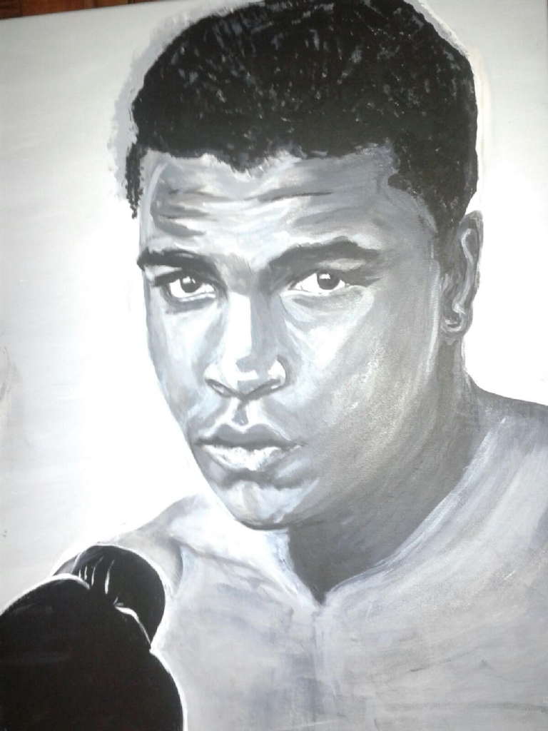 Artist: bbryant  Mohammad Ali        Catalog # 501 view only. Copyright (c) B. Bryant 2016